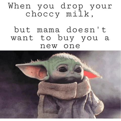 40 More Baby Yoda Memes Because Posting Them Is The Way Funny Baby Memes Yoda Meme Baby Memes