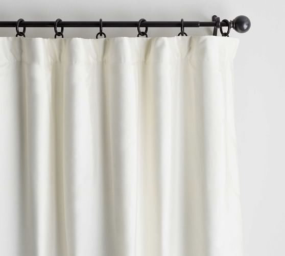 Exclusive Home Darma Sheer Linen Rod Pocket Curtain Panel Pair 50