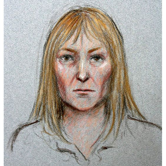 Suspect: This drawing, published in the Daily Mirror, was created with the help of Anna Stam. A shop assistant from Amsterdam spoke to a little girl called 'Maddy' who said she had been taken from her mother while on holiday