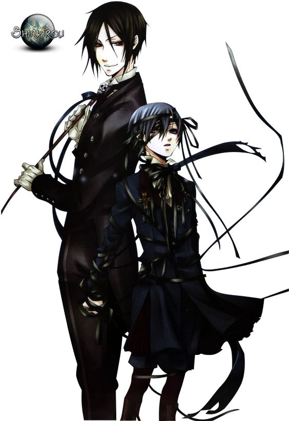 Render Kuroshitsuji - Renders ciel sebastian kuroshitsuji black butler