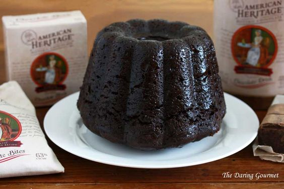 Steamed Chocolate Pudding   Recipe   Chocolate Pudding, Puddings ...