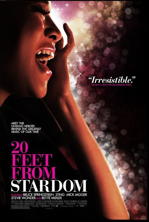 """20 Feet From Stardom"" fascinating look at the story of Darlene Love, Merry Clayton, Lisa Fischer, Claudia Lennear and several other back-up singers in modern pop and rock music. From Director Morgan Neville."