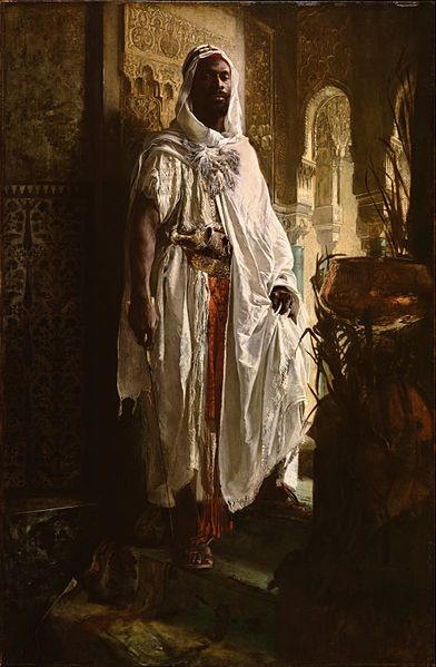 File:Eduard Charlemont, Austrian - The Moorish Chief - Google Art Project.jpg
