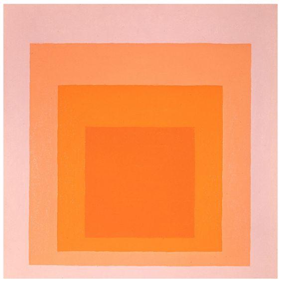 Josef Albers - Desert Glow, 1971