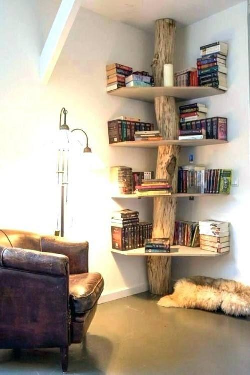 Bedroom Corner Shelf Ideas Bookshelves Diy Diy Home Decor