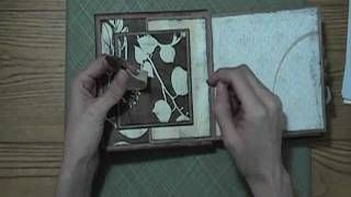 How To Assemble Tags for Paper Bag Album, via YouTube.