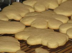 Sour Cream Cut out Cookies: I used golden crisco instead of butter.  They remind me of shortbread cookies.
