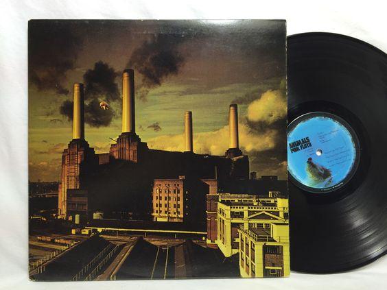Pink Floyd Animals Vinyl Record LP Gatefold Columbia JC 34474 Bar Code