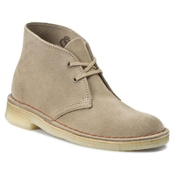 Pantofi Clarks Desert Boot 261069414 Sand Zapatos