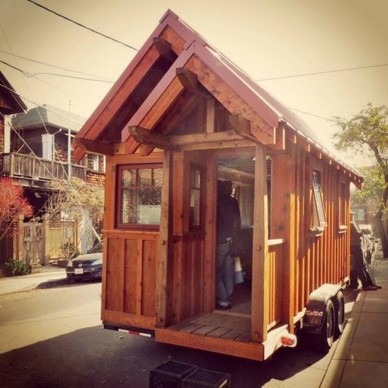 The Weller of Four Lights Tiny House Company in Berkeley CA