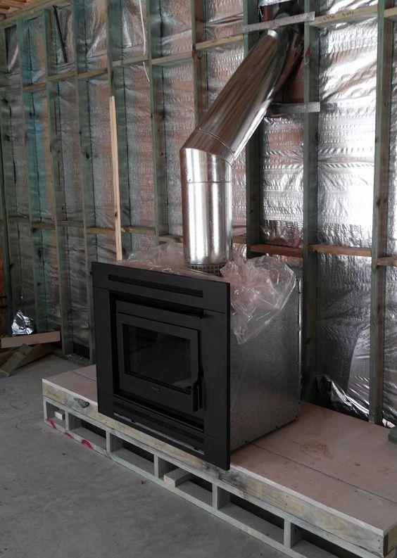 An install of an inbuilt Masport I2000 unit