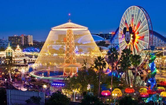 1-Day Disney California Adventure Ideal Day Plan Disney, Summer