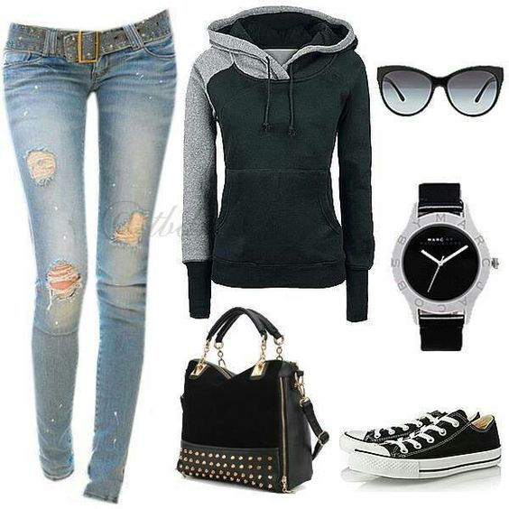 Casual lazy day outfit