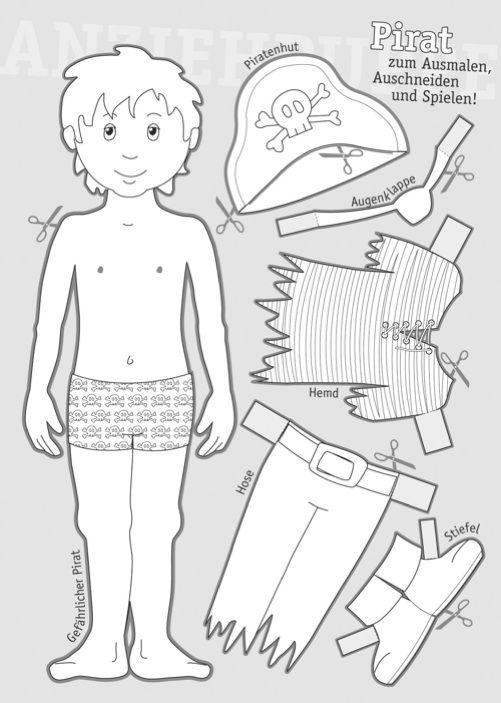 Anziehpuppen Sw Basteln Mit Und F 252 R Kinder Basteln