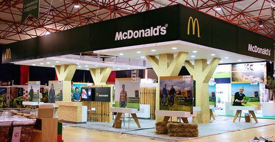 Stand McDonald's 2012, Feira de Agricultura de Santarém Produção para Havas / McDonald's Booth 2012,  Agriculture fair in Santarém Produced for Havas