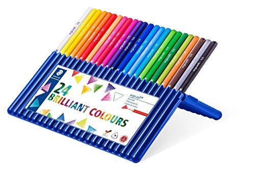 Staedtler Ergosoft Colored Pencils Set Of 24 Colors In S Https