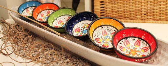 Bowls-Turkey-Keramikschale-Mediterran-6Set von Kult-Deko auf DaWanda.com