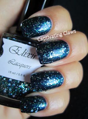 Captivating Claws-- Elixir Lacquers Kind of Connery