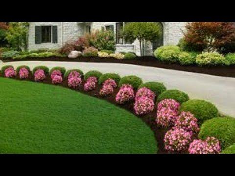 Beautiful Harmony Of Modern Flower Garden Landscaping Ideas