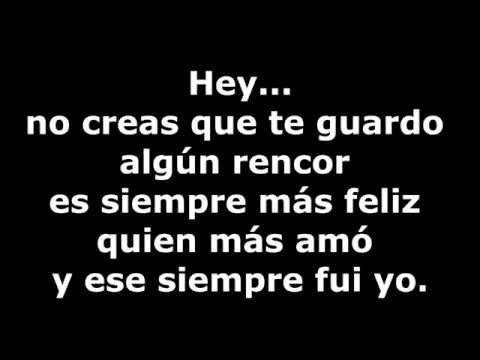 Julio Iglesias - Hey Con Letra - YouTube