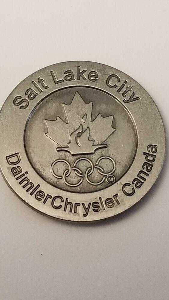 Olympics Salt Lake City Daimler Chrysler 2002 Lapel Hat Pin 254 Hat Pins Olympics Purple Hats