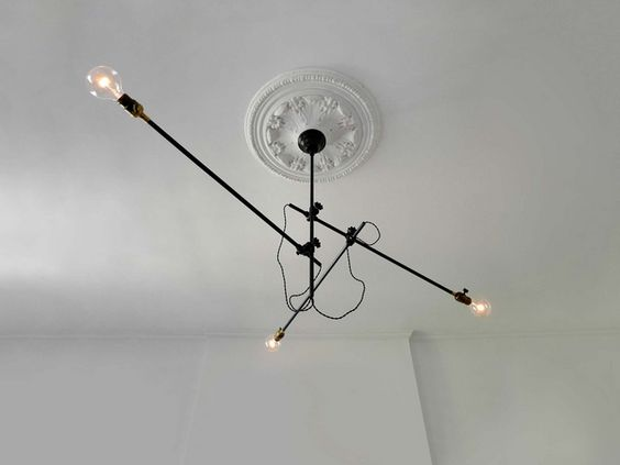 Industrial Chandelier Lighting Fixture 2.: Arm Workstead, Lighting Fixture, Furniture Lighting, Kitchen Lights, Dgn03 Lighting, Furnitures Lights