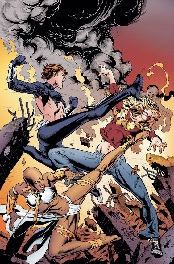 #Teen #Titans #Fan #Art. (Teen Titans #72) By: Joe Bennett.