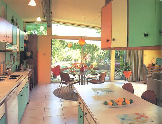 MCM Ranch Kitchen: 70 S Kitchen, Atomic Kitchen, Kitchen Style, Mid Century, Century Kitchens, Century Modern, Dream Kitchens, Atomic Ranchiness