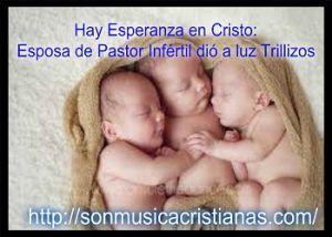 Hay Esperanza en Cristo: Esposa de Pastor Infértil dió a luz Trillizos – Noticias Cristianas