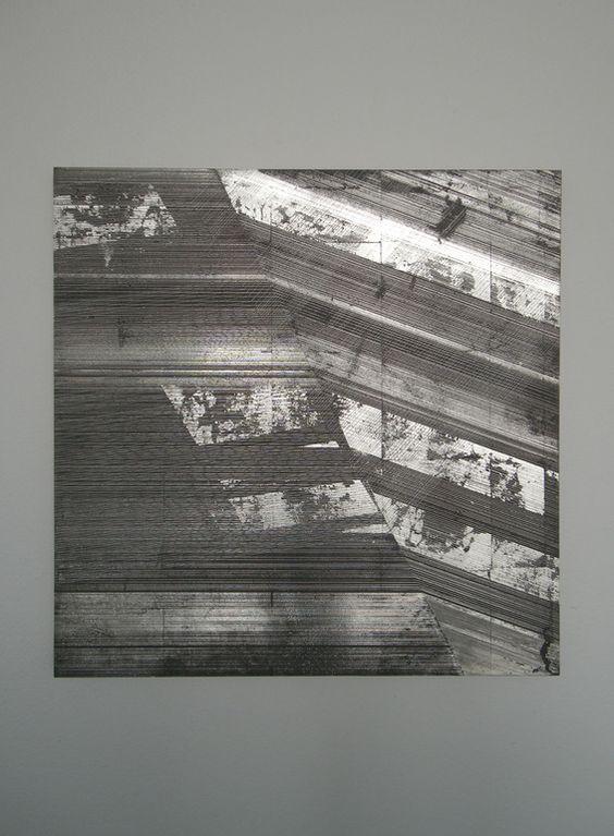 "Yoshiaki Mochizuki / ""Untitled"", 16 x 16 in, Mixed Media, 2011"