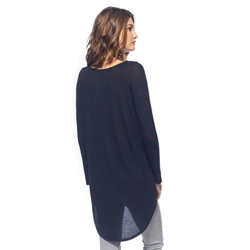 ADDIE- THE HIGH LOW LONG SLEEVE
