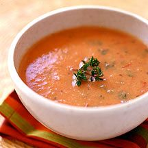 WeightWatchers.co.uk: Weight Watchers recipe - Red Pepper and Tomato Soup   1 Propoint