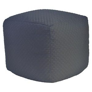 Quilted Pouf Ottoman - Room Essentials