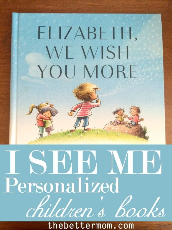 Personalized Children's Books {ISeeMe.com} — the Better Mom
