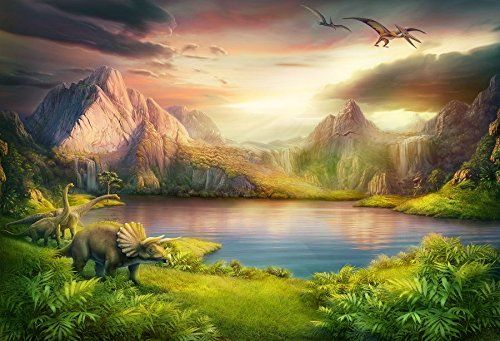 Baocicco 7x5ft Dinosaurs Theme Backdrop Boy Birthday Part Https Www Amazon Com D Background For Photography Photography Studio Background Digital Painting