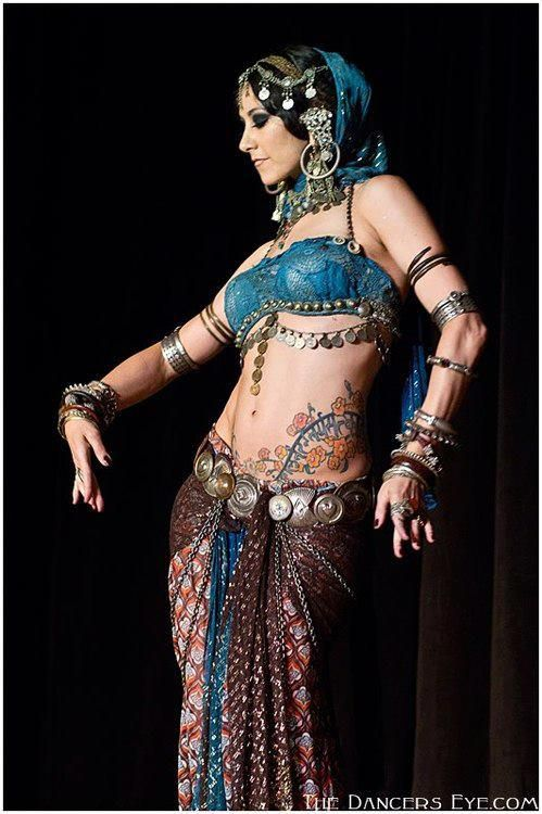 Rachel Brice. Gorgeous! (Danse du Ventre, Belly Dance, Tribal Fusion, Costumes, Costuming, Dance, Dancing)