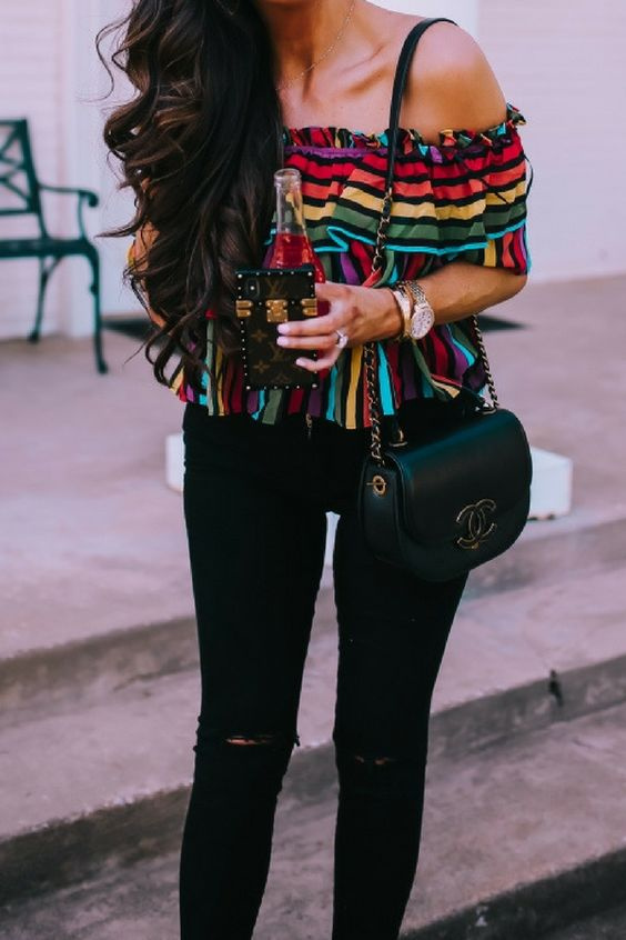 Flawless Colorful Outfits