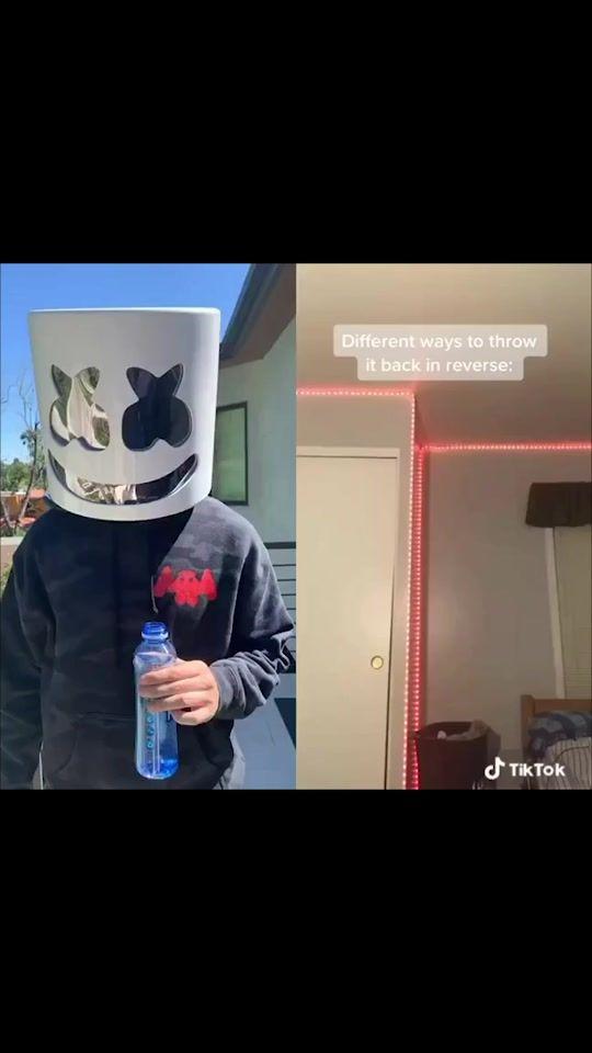 Marshmello Marshmellomusic On Tiktok All I Wanted To Do Was Drink My Water Duet With Bradosterhoutt Singing Videos Duet Funny Jokes