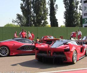 بطولات السيارات راليات و سباق سيارات Ferrari Ferrari Fxx Super Cars