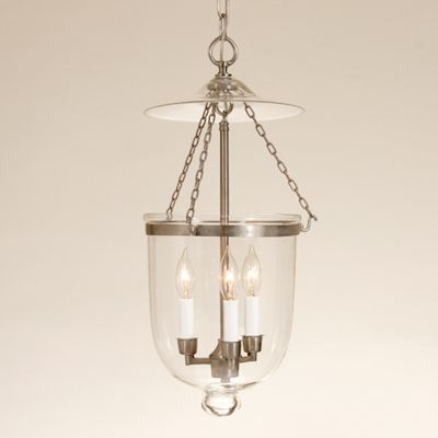 Medium Bell Lantern with Clear Glass