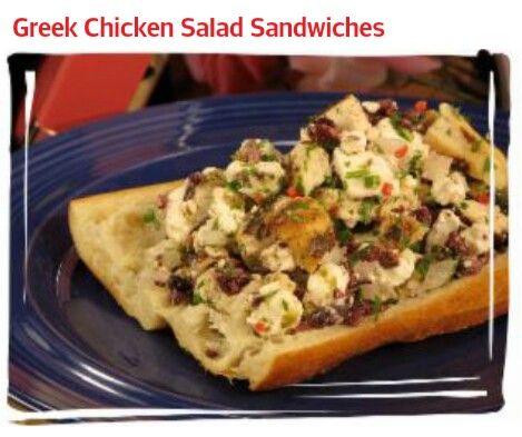 greek chicken salad sandwiches greek chicken salad chicken salads ...
