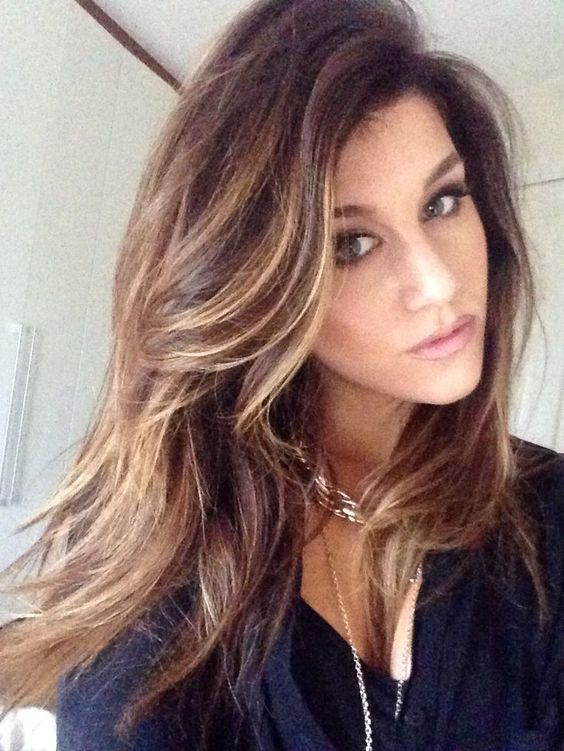 Remarkable Brown Hair With Blonde Highlights And Search On Pinterest Short Hairstyles Gunalazisus