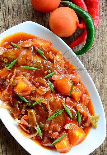 A Blog About Food By Mat Gebu Resep Masakan Resep Ikan Resep Masakan Malaysia