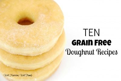 10 Grain Free Doughnut Recipes