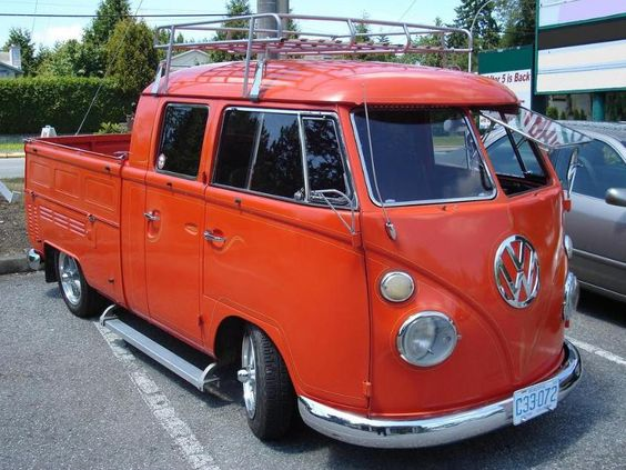 volkswagen type2 bus pick up vw truck volkswagen lovers das vw trucks pinterest. Black Bedroom Furniture Sets. Home Design Ideas