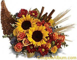 Classic cornucopia diy autumn decor pinterest shops for Diy thanksgiving floral centerpieces