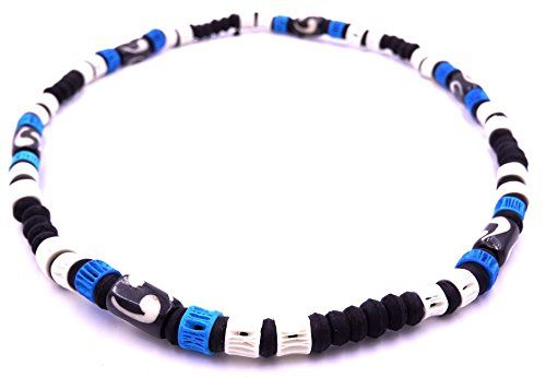 collier homme surfer