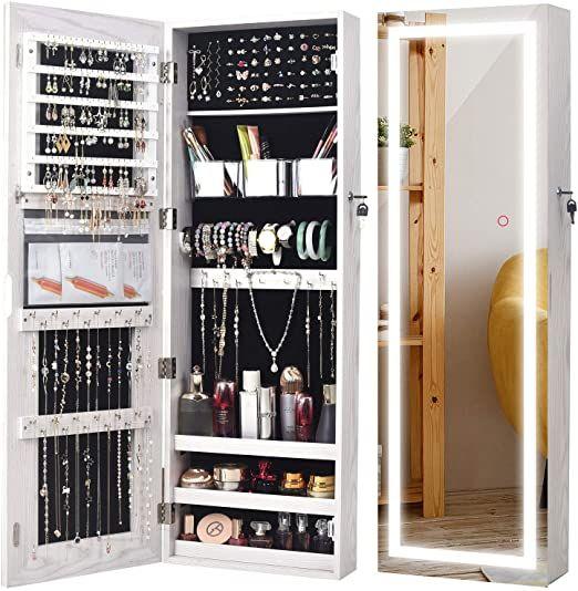 22+ Best wall mounted jewelry organizer ideas