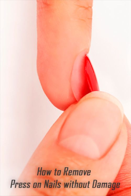 How To Remove Press On Nails Without Damage Pressonnails Press On Nails Fake Nails With Glue How To Grow Nails
