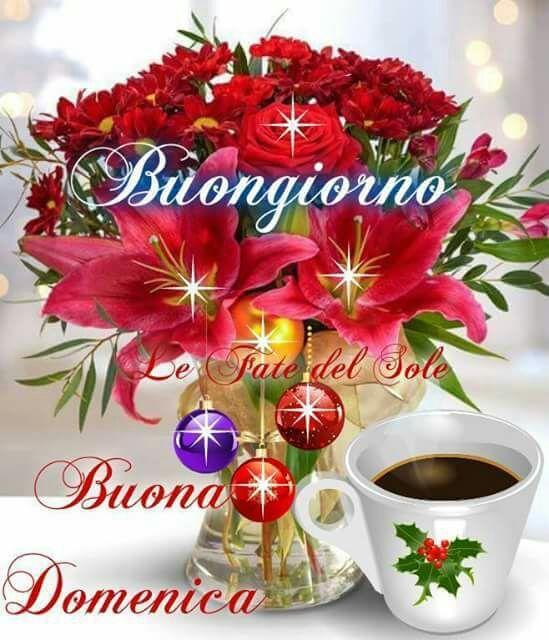 Buongiorno Buona Domenica Buona Domenica Domenica E Buon Natale